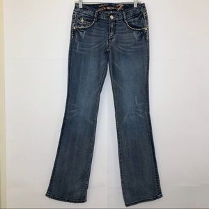 Like New Seven7 Boot Cut Jeans Size 27